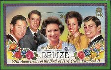 Belizean Postage American Stamps