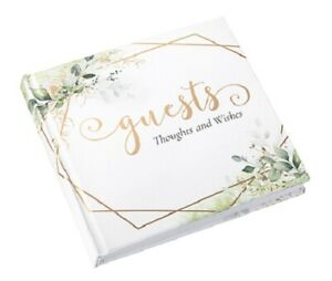 LILLIAN ROSE BOTANICAL WEDDING OR SPECIAL OCCASION GUESTBOOK