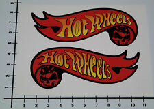 HOT WHEELS 2 Stück Aufkleber Sticker schwarz Auto Tuning Decal Muscle Car Mi278
