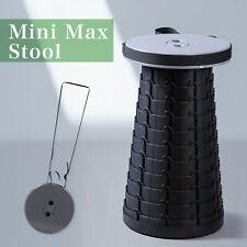 "Telescoping Folding Chair  MiniMax stool 17.7"""