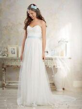 Plus Size WEDDING DRESS Ivory Modern Vintage New Never worn