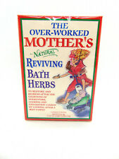 The Over Worked Mothers Reviving Natural Bath Herbs New Unopened 4 Pack Box