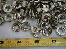 Finish Washer #10 Cup Style Brass Nickel Plated Lot of 95 #3849A