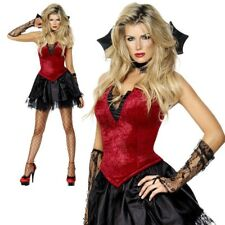 Fever Vixen Vamp Size Med 12 - 14 Ladies Halloween Costume