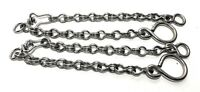 STAINLESS STEEL CHARRO HORSE BIT CHAINS CADENILLAS PARA FRENO ACERO INOXIDABLE