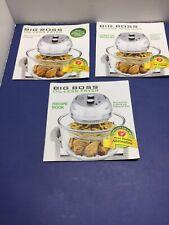 Big Boss 16 Quart Oil-Less Fryer Recipe and Manual#8605!!! EUC!!