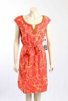 NEW Adrianna Papell -Size 18- Orange Dress w/ Bead Detailing-RRP:$160.00