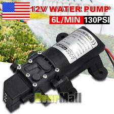 12v Water Pump 6lpm High Pressure Self Priming For Caravan Trailer Camping Boat