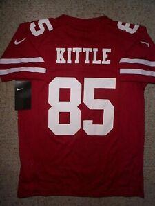 *IRREGULAR* 49ers GEORGE KITTLE nfl NIKE Jersey Youth Kids Boys (m-med-medium)