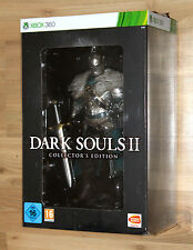 "Dark Souls II 2 Collector's Edition Xbox 360 con/with 12"" Warrior Knight figure"