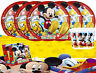 Mickey Mouse Clubhouse Party Tableware Pack of 16 Birthday Table Supplies Disney