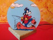 Goofy Lampe Kinderlampe Leuchte Walt Disney Productions rar
