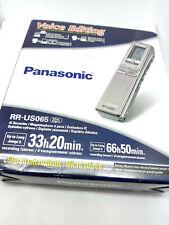 Panasonic RR-US065 Digital IC Memory Voice Recorder Handheld Dictaphone USB NEW