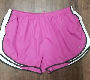 Nike Women's Plus Size Tempo Dri-FIT Track Shorts Purple Sz 3X - Mint Condition!
