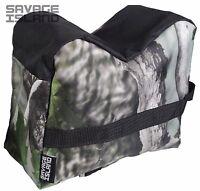 Front & Rear Rifle Air Gun Bench Rest Bag Hunting Target Shooting JXC Camo E1650