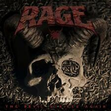 RAGE - The Devil Strikes Again 2 CD ( double CD )