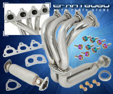 For 92-95 Civic 4-2-1 Performance Header Manifold Test Pipe Neo Bolt Cup Washer