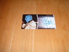 Star Trek Insurrection 1998 Autograph card A12 Bolian officer