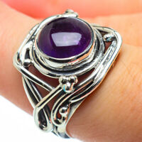 Amethyst 925 Sterling Silver Ring Size 7.75 Ana Co Jewelry R29194F