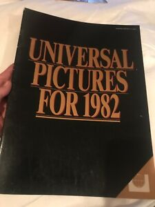Universal Pictures for 1982 Conan, Cat People, Dark Crystal,ET,Thing, Videodrome