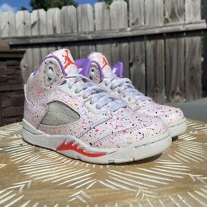 Nike Air Jordan 5 Retro GP 'Easter'  CT1701-100  Little Kids Size 13C