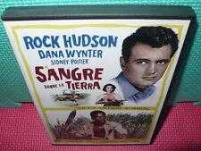 SANGRE SOBRE LA TIERRA - SIDNEY POITIER - ROCK HUDSON -  dvd