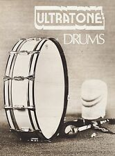 #MISC-0469 - 1973 ULTRATONE DRUMS music instrument catalog
