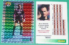 FOOTBALL CARD PANINI 1996 SEBASTIANO ROSSI AC MILANO ITALIA  ROSSONERI 1995-96