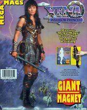 "New Xena Warrior Princess 10"" Giant Mega Magnet Magnets"