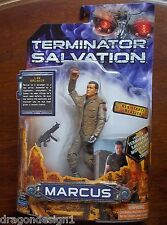 TERMINATOR SALVATION MARCUS ACTION FIGURE. 6 INCHES. WITH RESISTANCE BLASTER.