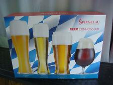 4 Craft Intenditore Bicchieri Birra ~ Spiegelau Tulip, Pilsner, Lager, Grano
