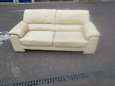 Leather 3 Seater Sofa 2 Armchairs Recliner