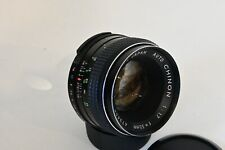 Chinon Auto 55mm f1.7 Prime Lens M42 Screw Fit Lens