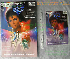 3-D Captain EO SPECIAL SOUVENIR EDITION Michael Jackson Eclipse Comic BIG PICS!