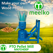 PTO PELLET MILL FOR WOOD - MKFD400P - FREE SHIPPING