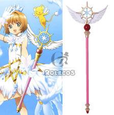 Card Captor Sakura Clear Card Star Magic Stick Wand Staves Cosplay Accessorie