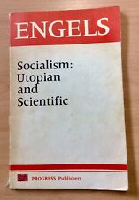 Socialism: Utopian And Scientific By Engels Progress Publishers Moscow 1978