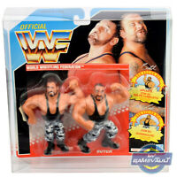 WWF Tag Team Protector x 1 Display Case for Hasbro Figures STRONG 0.5mm PET Box