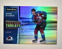 2020-21 UD Synergy Constant Threats #CT-8 Nathan MacKinnon - Colorado Avalanche