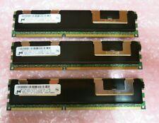 Micron MT36JSZF1G72PZ-1G4D1DD 24GB (3x8GB) 2Rx4 PC3-10600 DDR3 ECC 240P CL9 RAM