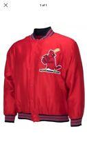 NEW St Louis Cardinals Presale 80's Theme Night Jacket 9/14 SGA ADULT Large!