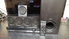 SONY DAV-TZ135 DVD Home Theatre Cinema System,5.1 Speakers,SUB,USB,WITH REMOTE.