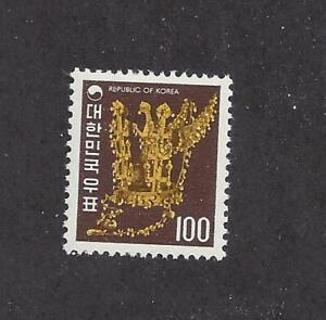 KOREA - 653 - MH - 1974 - GOLD CROWN, SILLA DYNASTY