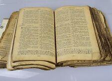 Vecchia russa ANTIQUARIATO religioso libro Bibbia BIBLIA sacre scritture Russia