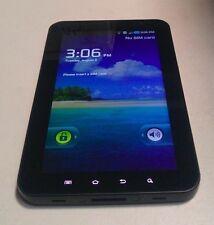 Samsung Galaxy Tab (SGH-T849) 16GB - Black - T-Mobile - 3G+Wi-Fi - WORKS!