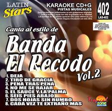 Karaoke Latin Stars 402 Banda El Recodo Vol.2
