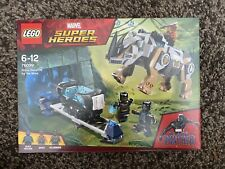 Lego Marvel Super Heroes 76099 Black Panther Rhino enfrentamiento