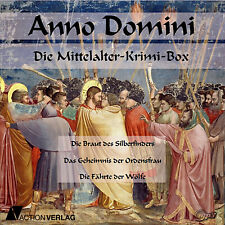 Hörbuch-Paket Anno Domini | 3 Hörbücher Mittelalter-Krimis | mp3-DVD-R