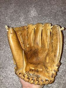 Vintage Rawlings KM700 Mickey Mantle Glove Kids Glove Leather