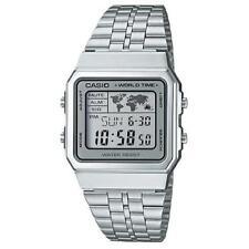 Casio A500wa-7d Unisex Watch4971850050018 Quartz Bracelet Steel